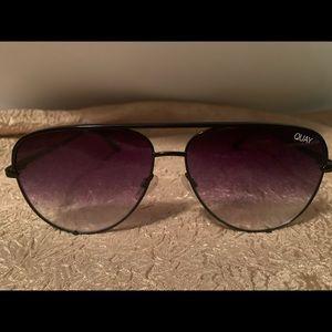 Quay Desi Perkins Aviator Sunglasses